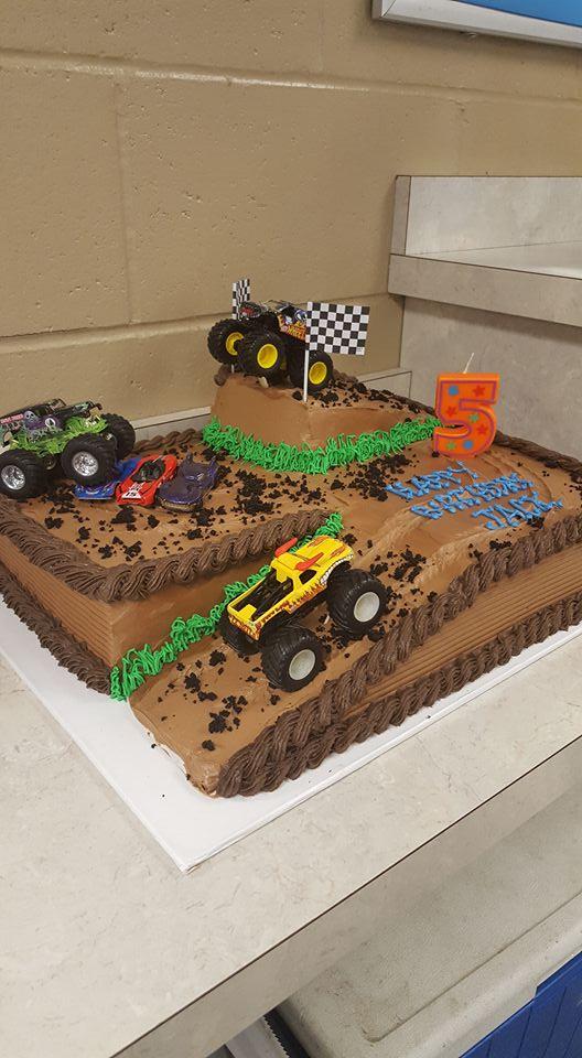 Monster Truck Birthday Cake Four Oaks Bakery