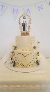 Honeybee Wedding Cake