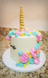 Bright Unicorn Cake Four Oaks Bakery