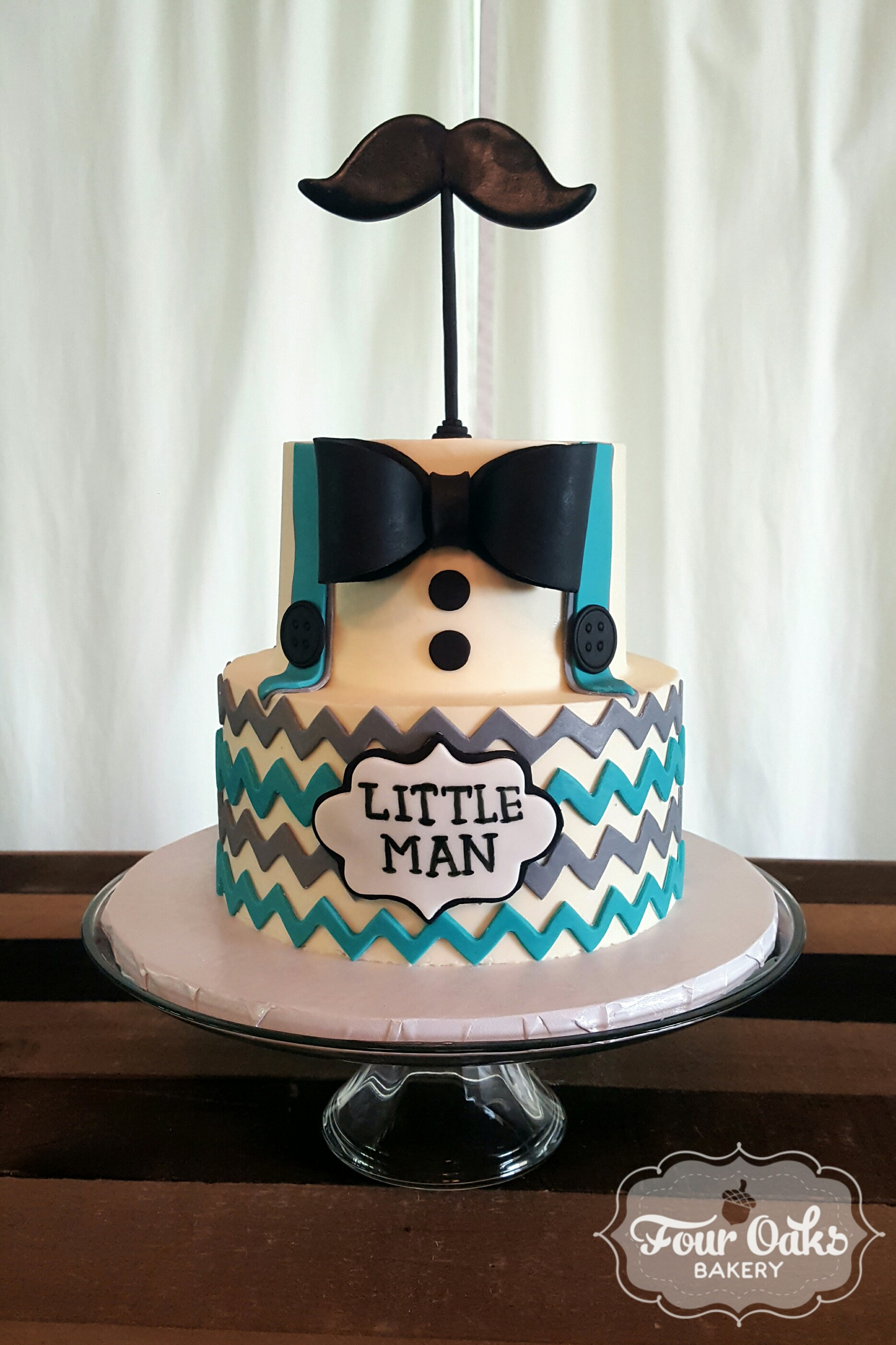Little Man Birthday Cake