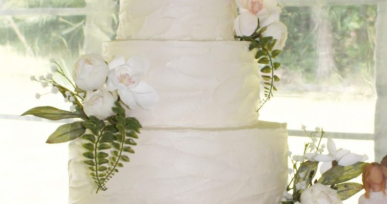 wedding cake indiana pa textured buttercream archives four oaks bakery 22969