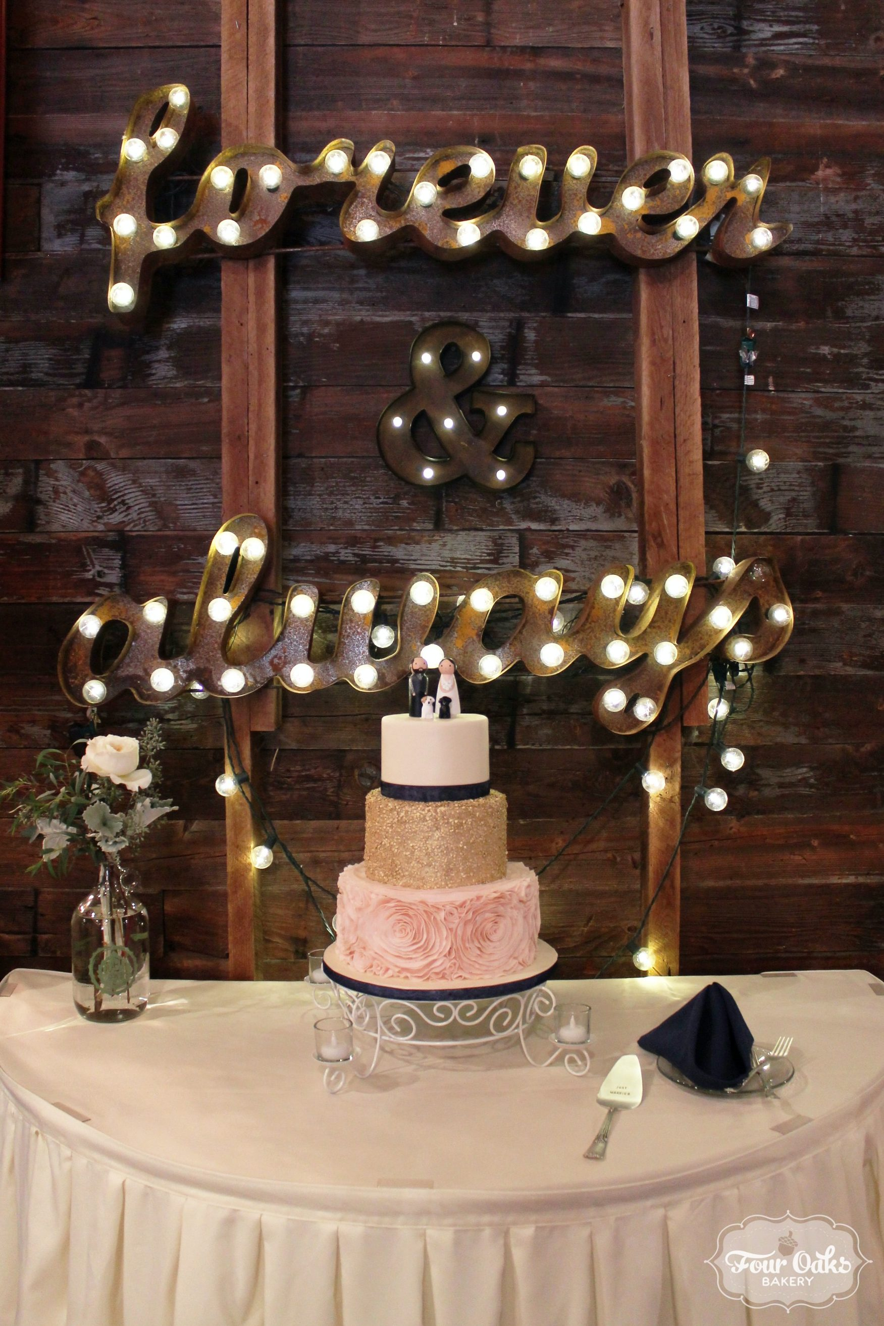 how to decorate wedding cake and greg s blush ivory and gold wedding cake at 15683